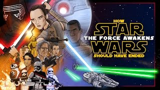 Nonton How Star Wars The Force Awakens Should Have Ended Film Subtitle Indonesia Streaming Movie Download