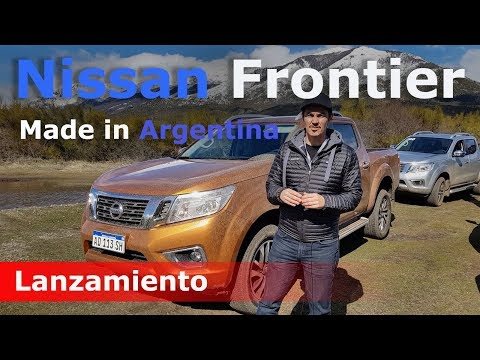 Lanzamiento Nissan Frontier made in Argentina