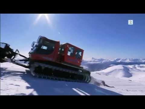 Nærmer seg catskiing i Harpefossen