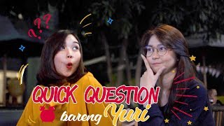 Video Quick Question Bareng Yuri MP3, 3GP, MP4, WEBM, AVI, FLV September 2018