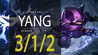 ~~~~Deixe o seu like, se inscreva e comente!!~~~~74632589 League of Legends ReplayYang as KENNEN TOP - Season 7Patch 7.9Runas e Talentos: http://matchhistory.br.leagueoflegends.com/pt/#match-details/BR1/1077231838/211934421?tab=builds&participant=10