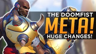 "Doomfist gameplay is among the most exciting in gaming, an adrenaline rush for sure, but in this video we discuss the implications on the established meta. Doomfist's vulnerability when being aggressive can't be understated, he's all in on offense, but that doesn't mean he'll be most effective playing extremely aggressively, but instead duel-heavy and tactical. Despite his glaring weaknesses though, there are lesser known strengths of hit kit that don't get enough praise, namely for his ability to crowd control the current top-of-the-meta D.Va Winston tank combo, disrupting their bully-style and punishing their oversteps (as opposed to being aggressive himself). It is for this reason that we feel Doomfist will be an excellent ""peeler"" (hero that protects your backline against aggression as your team ""peels"" back to catch and respond to a dive attack). Other crowd control answers don't find their value with Defense Matrix everywhere and Winston bubbles up frequently, but Doomfist counters dive heroes in that he provides an instakill threat, but also the crowd control to punish when the enemy extends into his domain. This causes perhaps, a rock paper scissors meta, where multiple compositions become relevant, although that's unlikely, as a new 'standard' is likely to develop, whether that includes Doomfist, or is shaped by his mere existence as a counter-pick threat requires time to tell, but either way look for FISTS to make an IMPACT into Overwatch Gameplay as soon as he PUNCHES his way into the scene. Subscribe here - http://bit.ly/2aN1OuOWe are YOUR OVERWATCH:Destiny Channel: https://www.youtube.com/channel/UCb4Jomiox07xosU843EYTiwPatreon - https://www.patreon.com/YourOverwatchTwitter - https://twitter.com/youroverwatchytTwitch - https://www.twitch.tv/youroverwatch Discord Server:https://discordapp.com/invite/youroverwatchFREEDO's personal channel for Overwatch esports talk and more!https://www.youtube.com/user/xfreeedo"