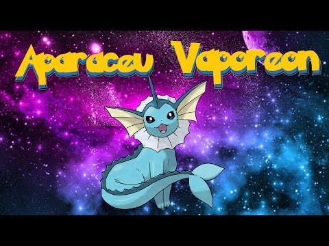 Pokemon Go - Vaporeon aparece em central park