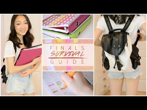 Finals Survival Guide : Study Tips, Makeup & Outfit!