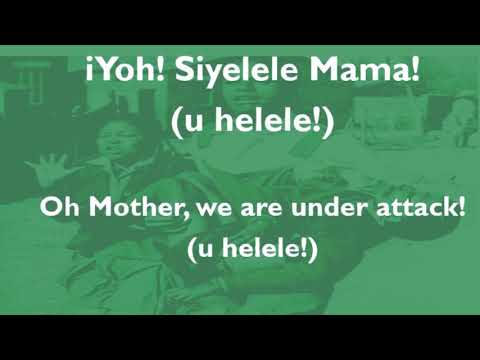 Sarafina - Siyelele Mama (Sechaba)  Lyric Video
