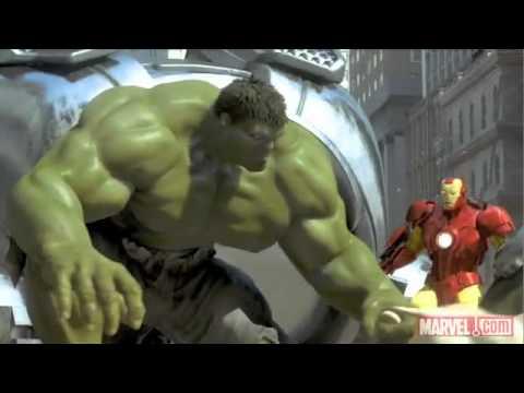 Homem de Ferro, Hulk e Homem Aranha Juntos