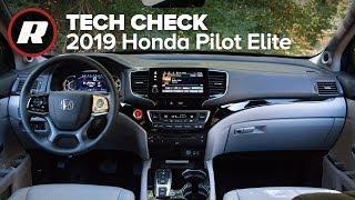 Tech Check: A lap inside the 2019 Honda Pilot Elite by Roadshow