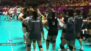 Thailand - China Volleyball World Grandprix 2012 - Ningbo China