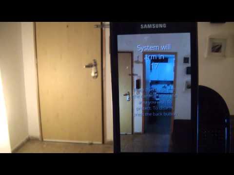 Video of SalientEye Home Security Alarm