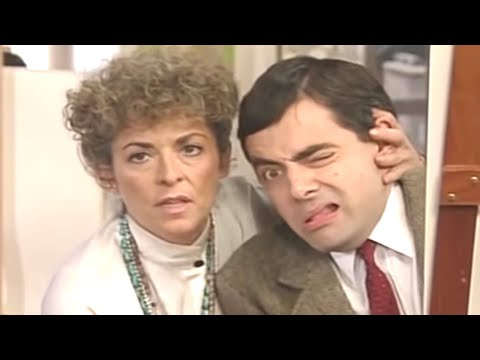 Don't Look Bean  Funny Clips  Mr Bean Official