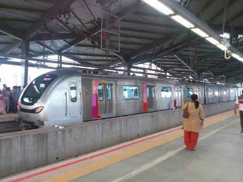 Mumbai Metro Ride