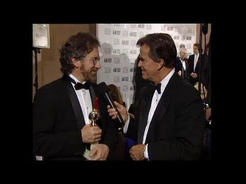 Dick Clark Interviews Steven Spielberg - Golden Globes 1994