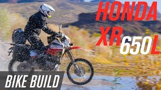 7. Honda XR650L Adventure Bike Build