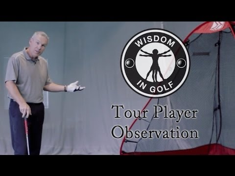 Tour Player Observation - Shawn Clement's Wisdom in Golf