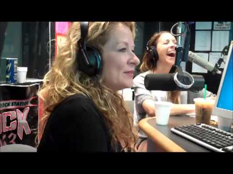 Comedienne Sarah Colonna on The Show  Rock 105.3