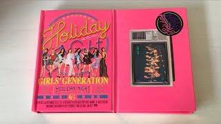 ♡Unboxing Girls' Generation (SNSD) 소녀시대 6th Studio Album Holiday Night (Both Ver.)♡