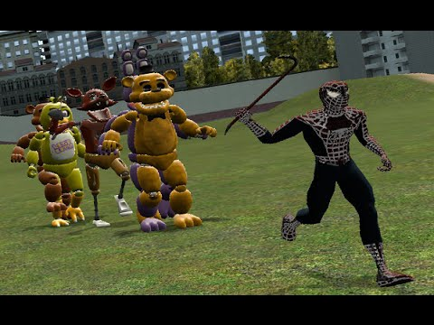 THE FNAF RUN! | Garry's Mod (видео)