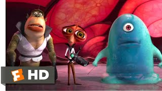 Monsters vs. Aliens (2009) - Destroy All Monsters! Scene (8/10) | Movieclips