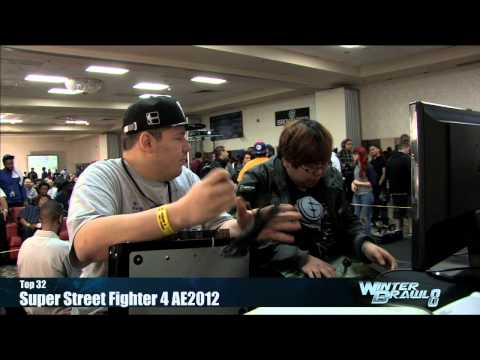 Super Street Fighter 4 - Super Street Fighter 4: AE2012 Top 32 Semifinals Part 1 - Winter Brawl 8 Tournament.