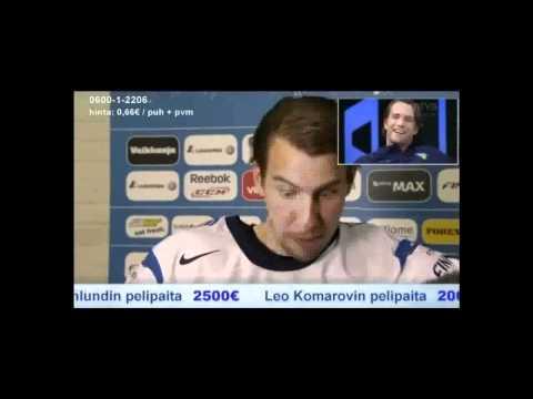 Aku Hirviniemi esittää Tuomo Ruutua | IIHF 2011 tekijä: MultiFloorballVideos