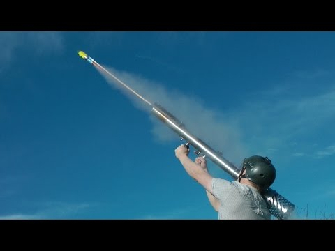 Crazy Colinfurze Builds A Firework Rocket