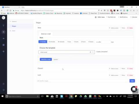 ClickHook Email Drip Campaign & Tasks with Calendar View