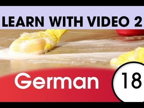 Learn German with Video – German Expressions That Help with the Housework 2