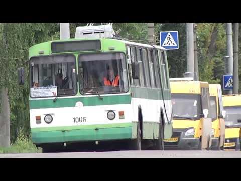 У Житомирі два тролейбусні маршрути почали курсувати до Промислової зони