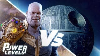 Is Thanos Stronger than The Death Star? | Power Levels by Screen Junkies