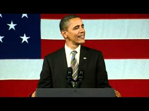 Barack Obama sings Al Green's Let's Stay Together in New York