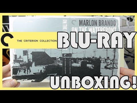 Blu-ray Unboxing!! On The Waterfront (Criterion Collection) - In Depth!