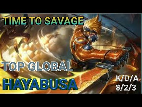 Haya Rework? Time To Savage! Gosu YL Shadow | Top 2 Global Hayabusa