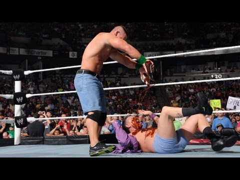 John Cena vs. Michael Cole: Raw, June 4, 2012