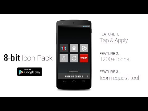 Video of 8-BIT Icon Theme FREE