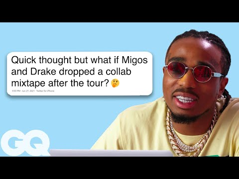Quavo Goes Undercover on Twitter, YouTube, and Reddit | GQ