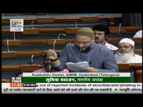 Video Asaduddin Owaisi Speech @ Mob Lynching & Violence in the Country || Parliament Monsoon Session download in MP3, 3GP, MP4, WEBM, AVI, FLV January 2017
