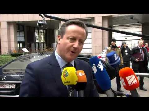 Κάμερον: Δεν θα δεχθώ συμφωνία που δεν θα καλύπτει τις ανάγκες της Βρετανίας