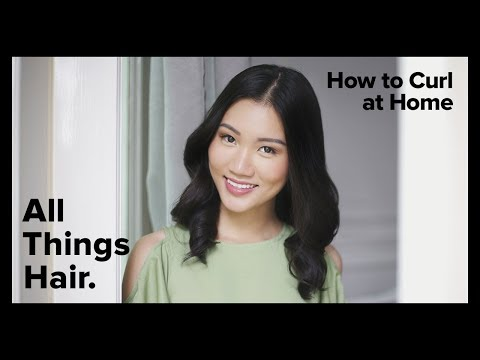 Curly hairstyles - How To Curl Hair at Home with TRESemme  All Things Hair PH