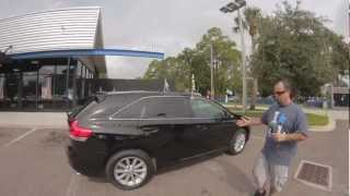 Autoline's 2009 Toyota Venza  AWD Walk Around Review Test Drive
