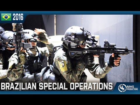 "Brazilian Special Operations | ""OpEsp – Rio 2016"""