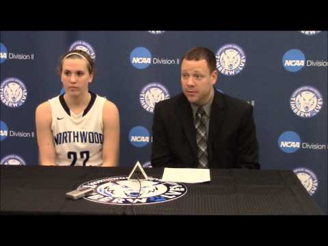 Northwood University Women's Basketball (12/11/14) - NU 65, Walsh 48 - Press Conference