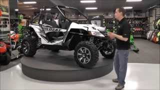 8. 2015 Arctic Cat Wildcat X White Metallic