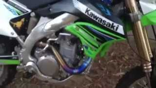 10. Kawasaki Klx450r ti4 gp low boy pro circuit jd jet kit