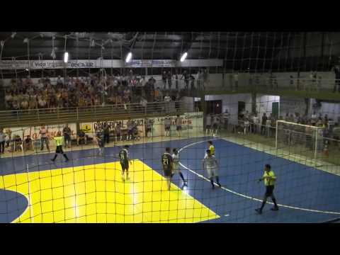 Gol de Edilson, ABELC 1 x 5 Lagoa, Série Prata RS 2015