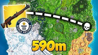 *WORLD RECORD* LONGEST SNIPE EVER! - Fortnite Funny Fails and WTF Moments! #410