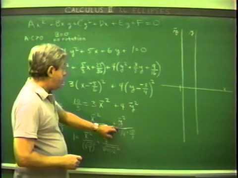 Calculus II mit Prof. James Foran 2:7