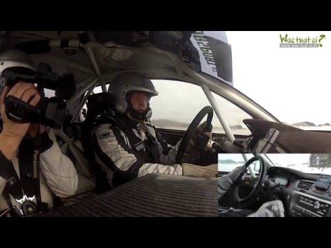 Rallyetesttag in Schenkenfelden Neulinger Reinhold