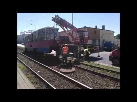 Ulica Jagiellońska: Wykoleił się tramwaj