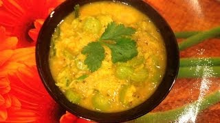 Kovakkai kootu or ivy gourd dal curry or tindora dal curry