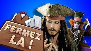 Video Johnny Depp et ses rôles bizarres - FERMEZ LA (Vieux Dossier #3) MP3, 3GP, MP4, WEBM, AVI, FLV Agustus 2018